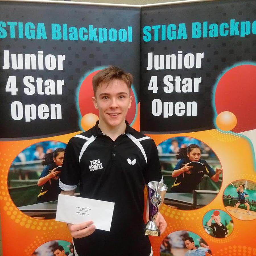 Josh Stacey Winner Junior Boys18